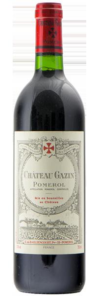 Château Gazin 2018