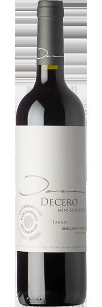 Decero Mini Ediciones Tannat 2016 Finca Decero
