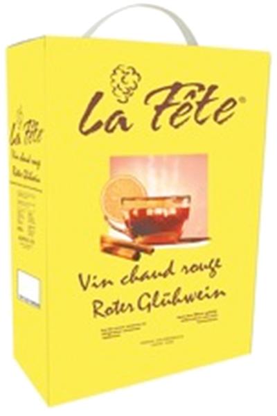 Glühwein La Fête, Bricpack 3-Liter (fixfertig)
