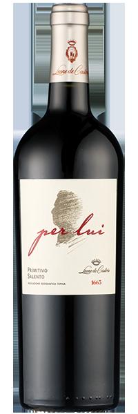 "Primitivo ""per lui"" 2016 Leone de Castris"
