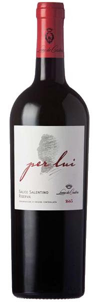 """Salice Salentino """"per lui"""" 2015 Leone de Castris"""