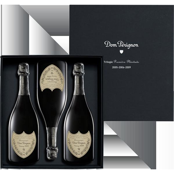 Dom Pérignon Blanc, Giftbox 3 Jahrgänge