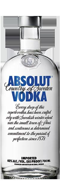 Absolut Vodka 40°