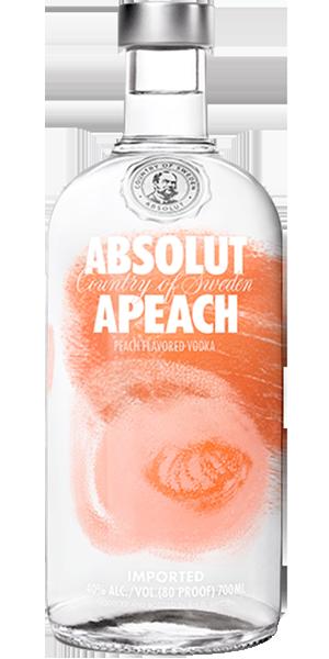 Absolut Vodka Apeach 40°