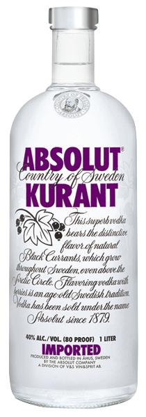Absolut Vodka Black Kurant 40°