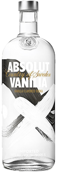 Absolut Vodka Vanilla 40°