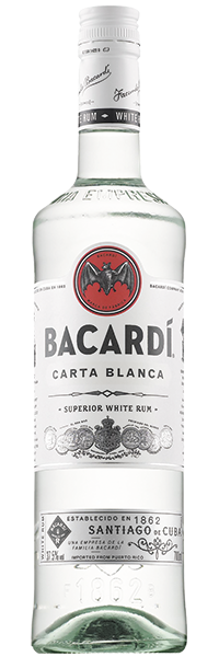 Bacardi Carta Blanca 37.5°