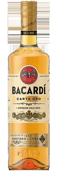 Bacardi Carta Oro 37.5°