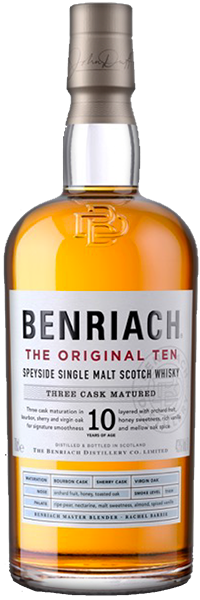 BenRiach 10 years Original Three Cask Matured 43°