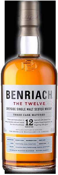 BenRiach 12 years Original Three Cask Matured 46°