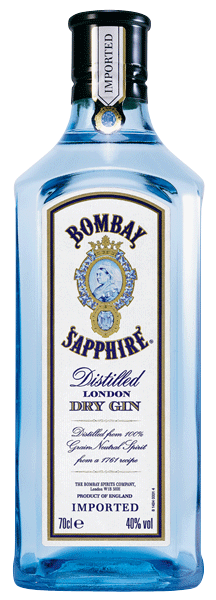 Bombay Sapphire Dry Gin 40°