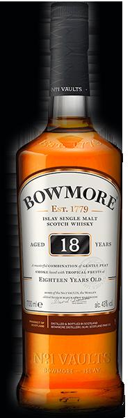 Bowmore 18 years 43°