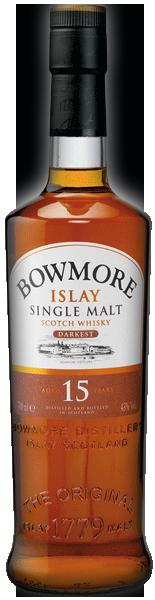 Bowmore Darkest 15 years 43°