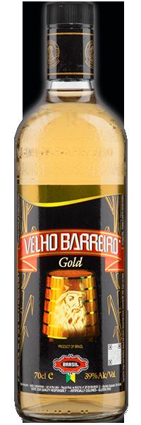 Cachaça Velho Barreiro Gold 39°