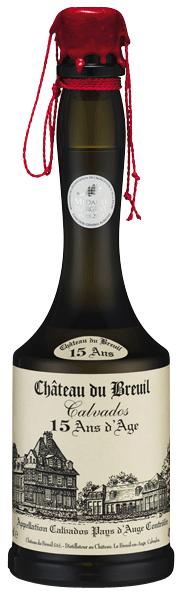 Calvados 15ans Château du Breuil 41°