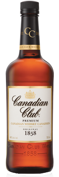 Canadian Club Whisky 40°