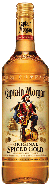 Captain Morgan Spiced Rum 35°