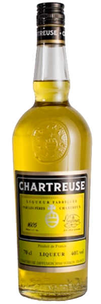 Chartreuse gelb 40°
