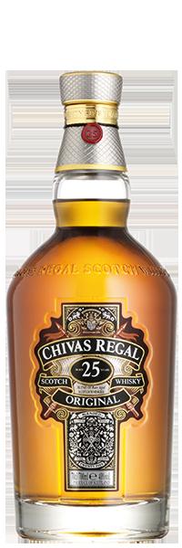 Chivas Regal 25 years 40°