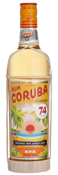 Coruba Rum N.P.U. 74° Hochprozent
