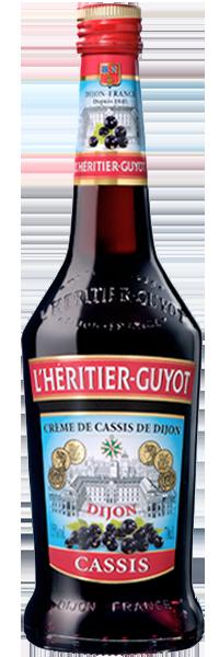 Crème de Cassis 15° L'Héritier-Guyot