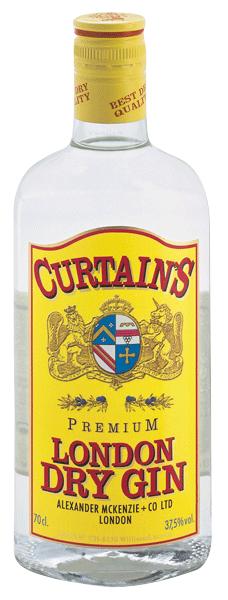 Curtain's London Dry Gin 37.5°