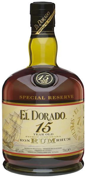 El Dorado Rum 15 years 43°