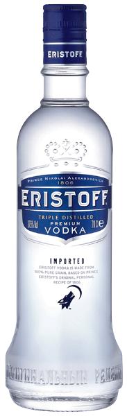 Eristoff Vodka 37°