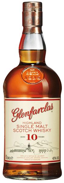 Glenfarclas 10 years 40°