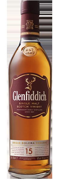 Glenfiddich 15 years Our Solera 40°