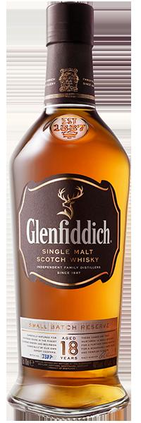 Glenfiddich 18 years + 2 Gläser 40°