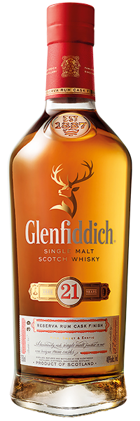 Glenfiddich 21 years Rum Cask Finished 40°
