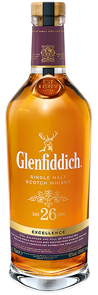 Glenfiddich 26 years Excellence Etui 47.8°
