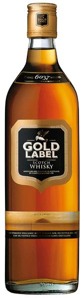Gold Label Whisky 40°