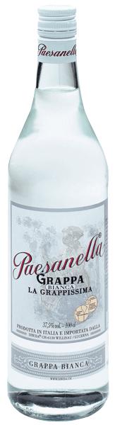 Grappa Bianca Paesanella 37.5°