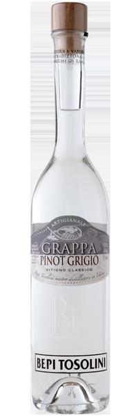 Grappa Pinot Grigio Bepi Tosolini 40°