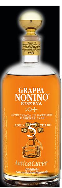Grappa Riserva Antica Cuvée 5 years 43° Nonino