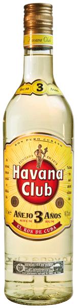 Havana Club Añejo 3 años 40°