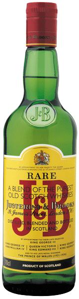 J + B Rare Scotch 40°
