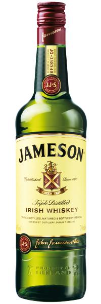 Jameson Irish Whisky 40°