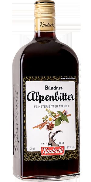 Kindschi Bündner Alpenbitter 23°