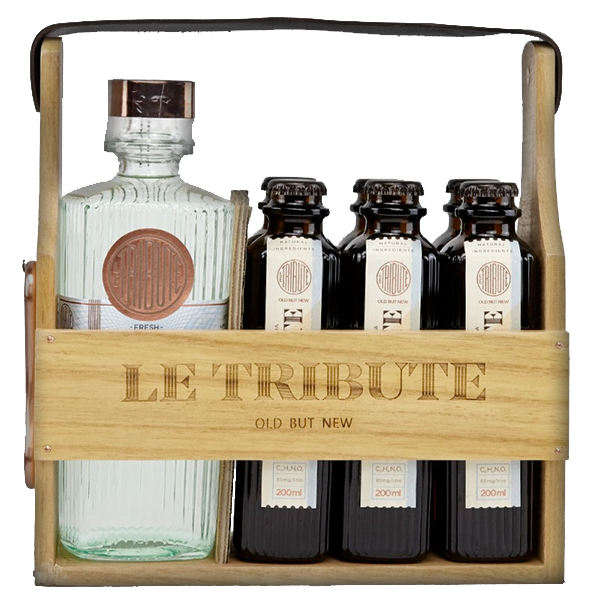 Le Tribute Gin Holzbox 43°