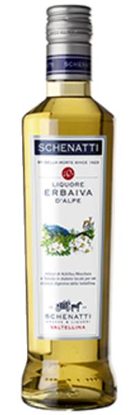 Liquore Erba iva d'Alpe 21° Schenatti