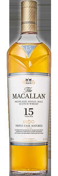 Macallan 15 years Old Triple Cask 43°