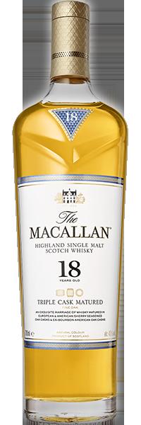 Macallan 18 years Old Triple Cask 43°
