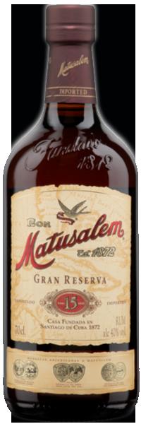 Matusalem Rum Gran Reserva 15 years 40°