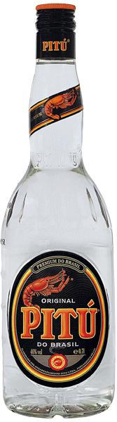 Pitù Cachaça do Brazil 40°