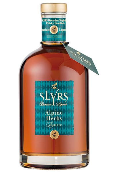 Slyrs Whisky-Liqueur Alpine Herbs 30°