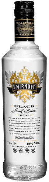 Smirnoff Black Vodka 40°