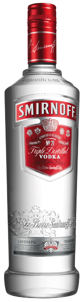 Smirnoff Red Vodka 37.5°